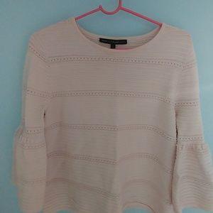 White House BM pink sweater